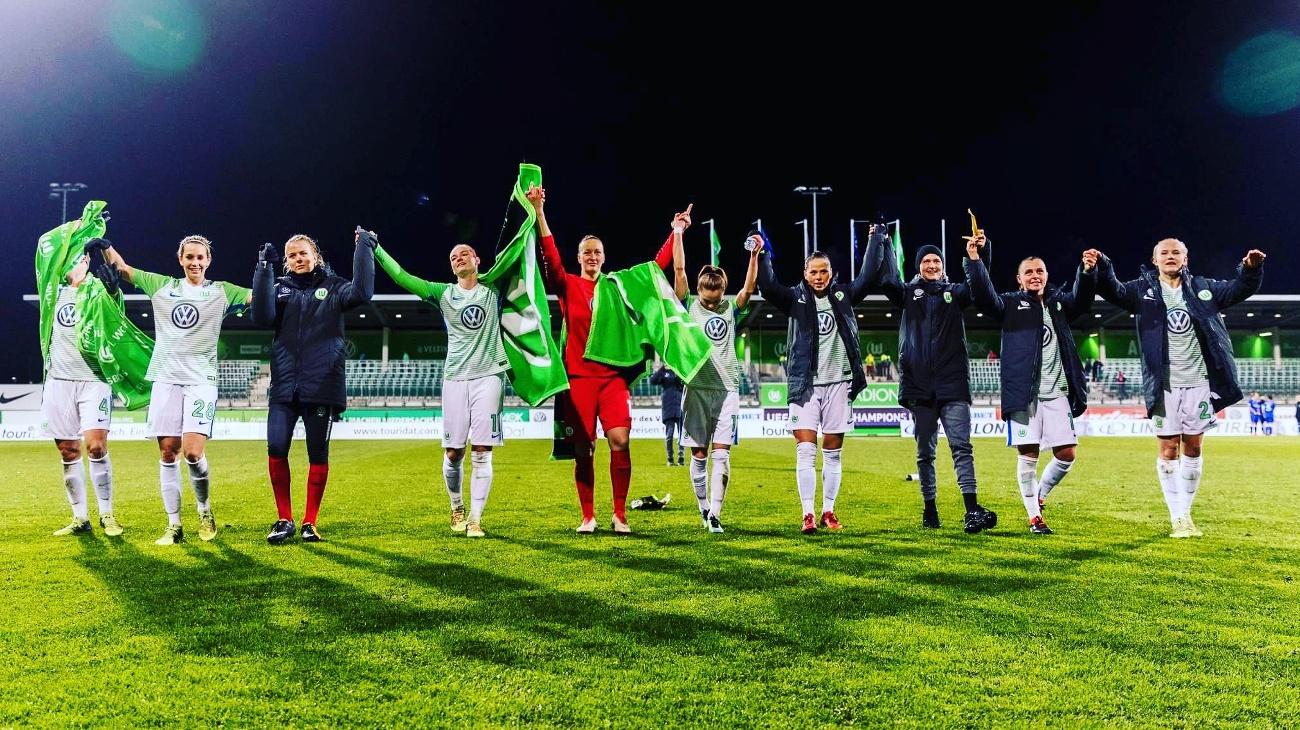 Vfl Wolfsburg w półfinale Champions League