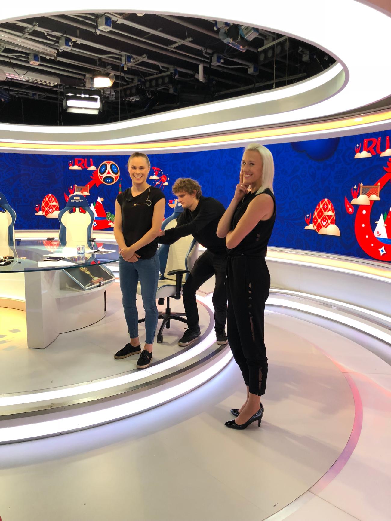Ewa Pajor w TVP Sport