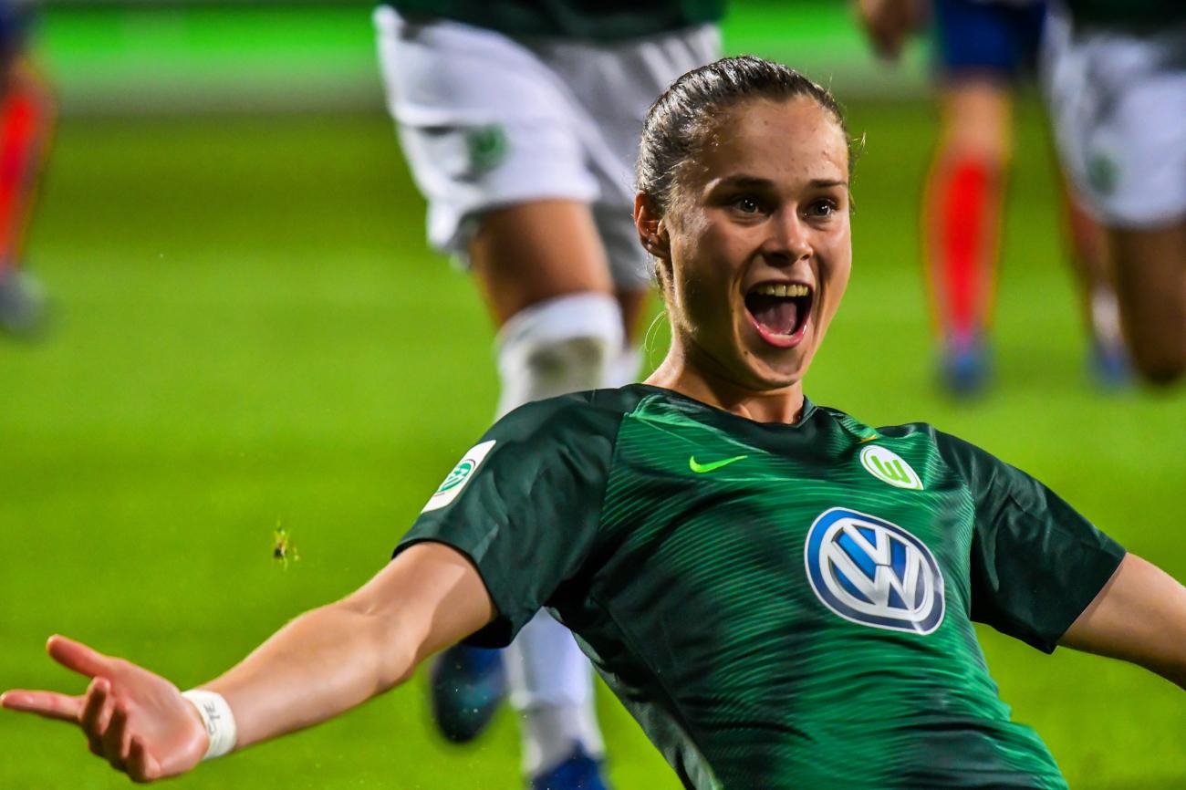 Ewa Pajor podpisała kontakt z VFL Wolfsburg do czerwca 2022 roku