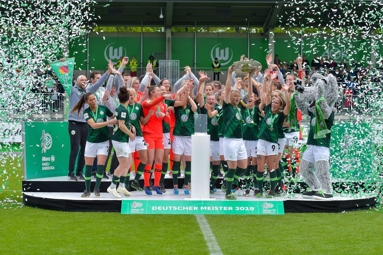Wolfsburg German League Champion