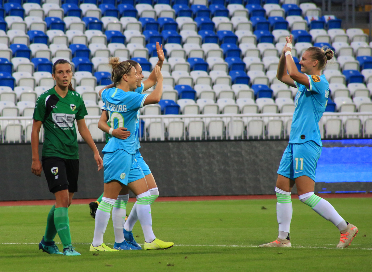 Ewa Pajor UEFA Women Champions League