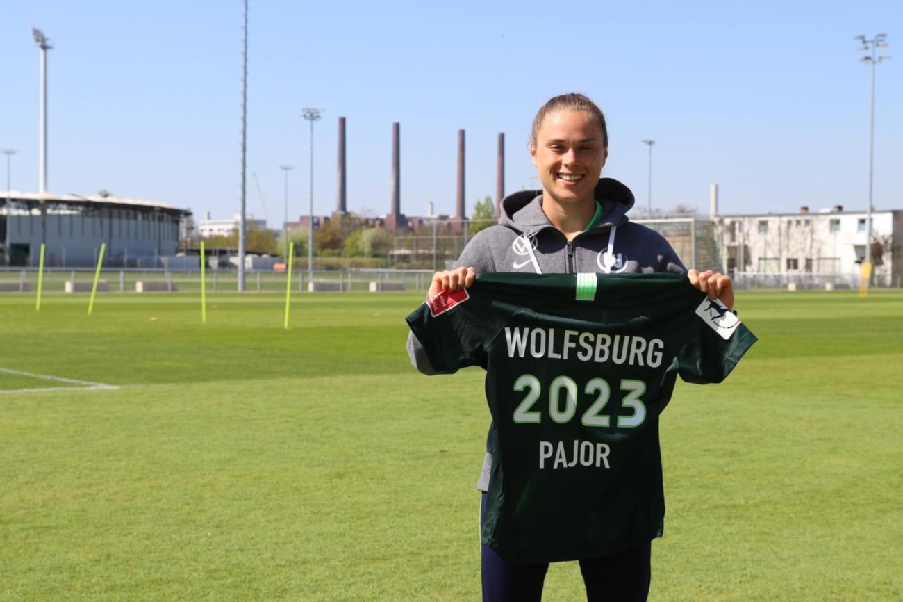 Ewa Pajor podpisała nowy kontrakt do 2023 roku