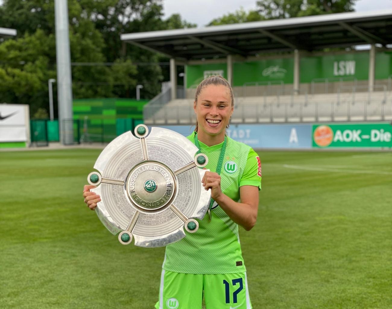 Piłkarka Ewa Pajor zdobyła swoje kolejne Mistrzostwo Niemiec